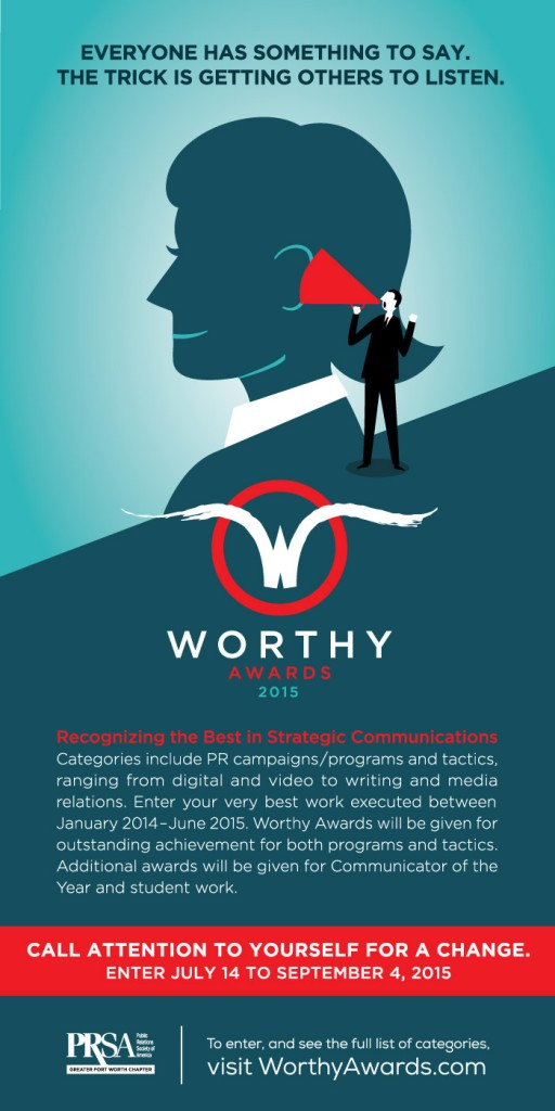 Worthy Awards Call for Entries - July 14 - September 4